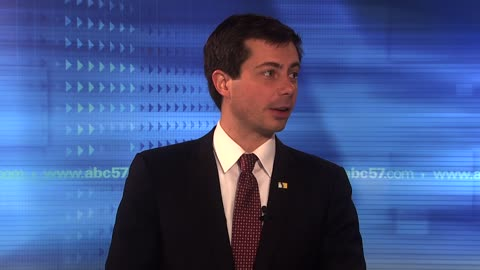 South Bend Mayor Pete Buttigieg talks about decision not to run...
